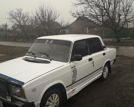 Білий ВАЗ 2107, об'ємом двигуна 1.5 л та пробігом 106 тис. км за 1600 $, фото 1 на Automoto.ua
