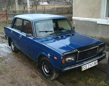 Синий ВАЗ 2107, объемом двигателя 1.5 л и пробегом 3 тыс. км за 1050 $, фото 1 на Automoto.ua