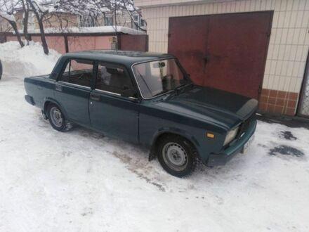 Зеленый ВАЗ 2107, объемом двигателя 1.5 л и пробегом 1 тыс. км за 1500 $, фото 1 на Automoto.ua