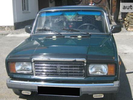 Зелений ВАЗ 2107, об'ємом двигуна 1.5 л та пробігом 67 тис. км за 1650 $, фото 1 на Automoto.ua
