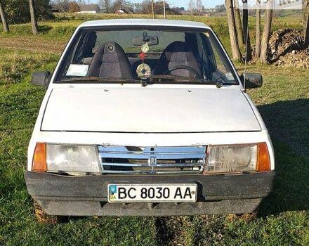 Белый ВАЗ 2108, объемом двигателя 1.3 л и пробегом 125 тыс. км за 1100 $, фото 1 на Automoto.ua