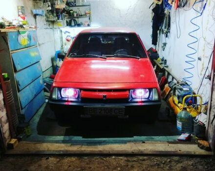 Красный ВАЗ 2108, объемом двигателя 1.6 л и пробегом 12 тыс. км за 2300 $, фото 1 на Automoto.ua