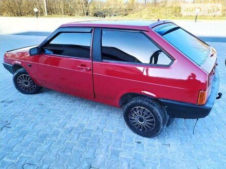Червоний ВАЗ 2108, об'ємом двигуна 1.5 л та пробігом 140 тис. км за 1600 $, фото 1 на Automoto.ua