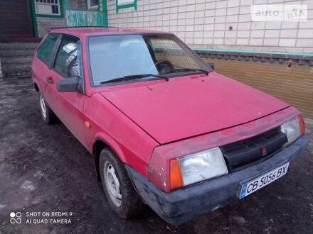 Червоний ВАЗ 2108, об'ємом двигуна 1.1 л та пробігом 85 тис. км за 1100 $, фото 1 на Automoto.ua