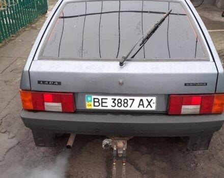 Серый ВАЗ 2108, объемом двигателя 15 л и пробегом 158 тыс. км за 3000 $, фото 1 на Automoto.ua