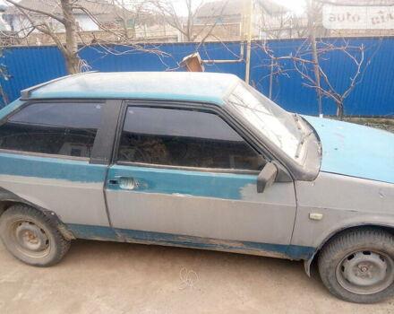 Синий ВАЗ 2108, объемом двигателя 0 л и пробегом 10 тыс. км за 1000 $, фото 1 на Automoto.ua