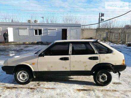 Белый ВАЗ 2109, объемом двигателя 1.3 л и пробегом 400 тыс. км за 1300 $, фото 1 на Automoto.ua