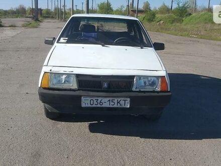 Белый ВАЗ 2109, объемом двигателя 1.3 л и пробегом 11 тыс. км за 1350 $, фото 1 на Automoto.ua