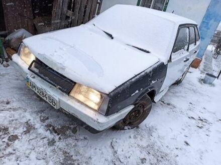 Белый ВАЗ 2109, объемом двигателя 1.3 л и пробегом 1 тыс. км за 643 $, фото 1 на Automoto.ua