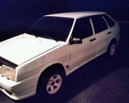 Белый ВАЗ 2109, объемом двигателя 1.1 л и пробегом 87 тыс. км за 1900 $, фото 1 на Automoto.ua