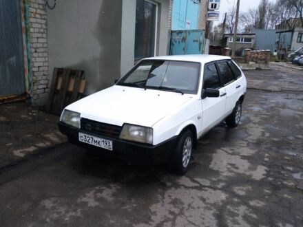 Белый ВАЗ 2109, объемом двигателя 1.5 л и пробегом 98 тыс. км за 1300 $, фото 1 на Automoto.ua