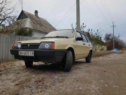 Бежевый ВАЗ 2109, объемом двигателя 1.3 л и пробегом 120 тыс. км за 2200 $, фото 1 на Automoto.ua