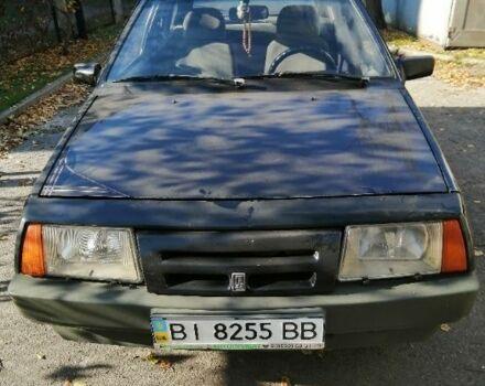 Чорний ВАЗ 2109, об'ємом двигуна 1 л та пробігом 1 тис. км за 2000 $, фото 1 на Automoto.ua
