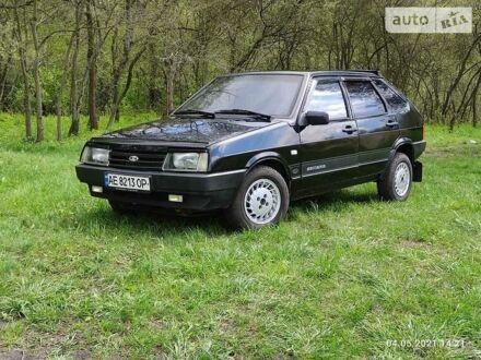 Черный ВАЗ 2109, объемом двигателя 1.5 л и пробегом 175 тыс. км за 2550 $, фото 1 на Automoto.ua