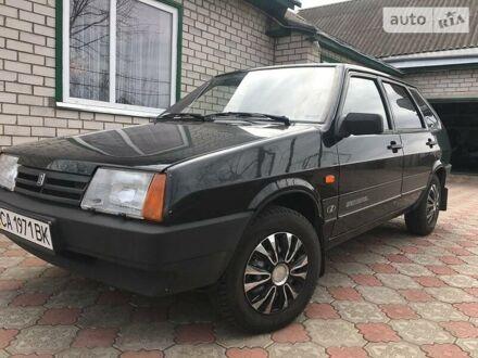 Черный ВАЗ 2109, объемом двигателя 1.5 л и пробегом 71 тыс. км за 3000 $, фото 1 на Automoto.ua