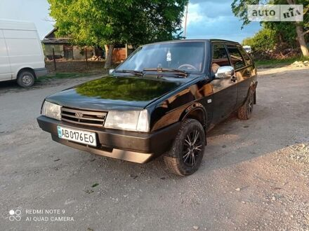 Черный ВАЗ 2109, объемом двигателя 1.5 л и пробегом 200 тыс. км за 2700 $, фото 1 на Automoto.ua