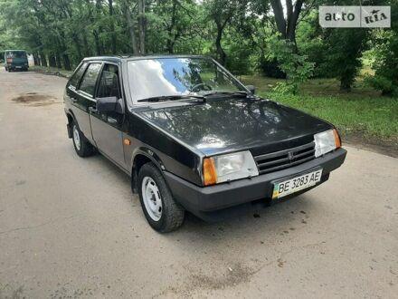 Черный ВАЗ 2109, объемом двигателя 1.5 л и пробегом 59 тыс. км за 3300 $, фото 1 на Automoto.ua