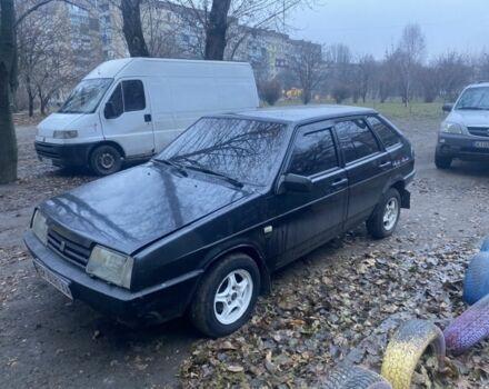 Черный ВАЗ 2109, объемом двигателя 1.5 л и пробегом 150 тыс. км за 1850 $, фото 1 на Automoto.ua