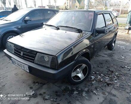Черный ВАЗ 2109, объемом двигателя 1.6 л и пробегом 131 тыс. км за 3800 $, фото 1 на Automoto.ua