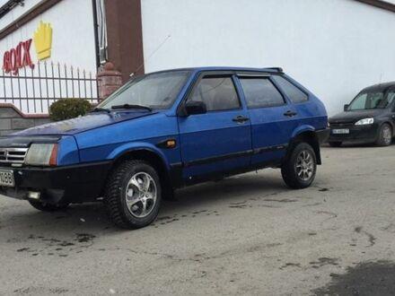 Голубой ВАЗ 2109, объемом двигателя 15 л и пробегом 13 тыс. км за 1350 $, фото 1 на Automoto.ua