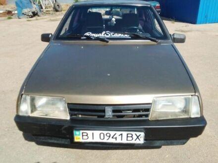 Коричневый ВАЗ 2109, объемом двигателя 1.5 л и пробегом 280 тыс. км за 0 $, фото 1 на Automoto.ua