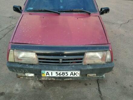 Красный ВАЗ 2109, объемом двигателя 1.3 л и пробегом 1 тыс. км за 890 $, фото 1 на Automoto.ua