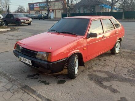 Червоний ВАЗ 2109, об'ємом двигуна 1.3 л та пробігом 67 тис. км за 1600 $, фото 1 на Automoto.ua