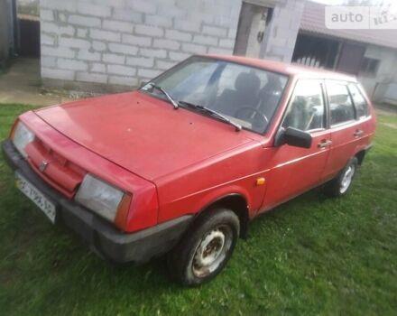 Червоний ВАЗ 2109, об'ємом двигуна 1.3 л та пробігом 666 тис. км за 900 $, фото 1 на Automoto.ua