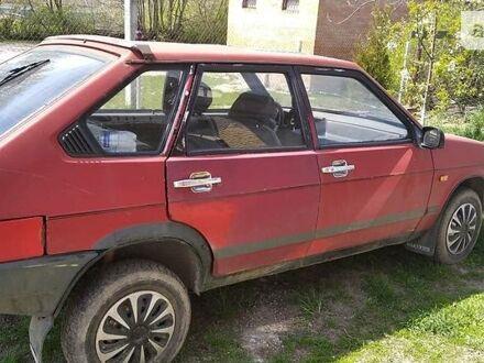 Червоний ВАЗ 2109, об'ємом двигуна 1.3 л та пробігом 500 тис. км за 1000 $, фото 1 на Automoto.ua