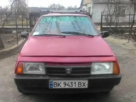 Красный ВАЗ 2109, объемом двигателя 1.3 л и пробегом 100 тыс. км за 1100 $, фото 1 на Automoto.ua