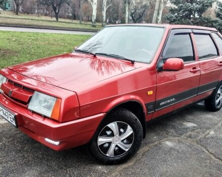Червоний ВАЗ 2109, об'ємом двигуна 1.5 л та пробігом 230 тис. км за 2400 $, фото 1 на Automoto.ua