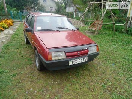 Красный ВАЗ 2109, объемом двигателя 1.5 л и пробегом 88 тыс. км за 1600 $, фото 1 на Automoto.ua