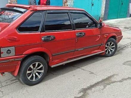 Красный ВАЗ 2109, объемом двигателя 1.5 л и пробегом 100 тыс. км за 3000 $, фото 1 на Automoto.ua