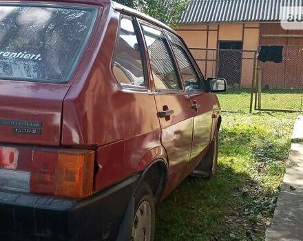 Червоний ВАЗ 2109, об'ємом двигуна 1.1 л та пробігом 10 тис. км за 1700 $, фото 1 на Automoto.ua