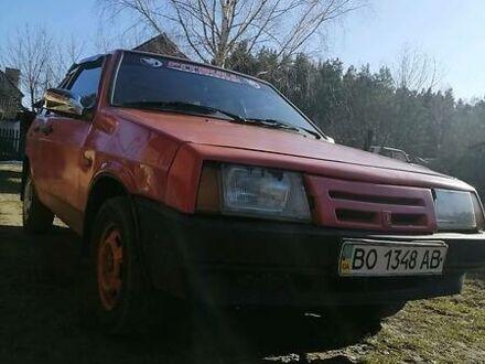 Красный ВАЗ 2109, объемом двигателя 1.5 л и пробегом 123 тыс. км за 1200 $, фото 1 на Automoto.ua