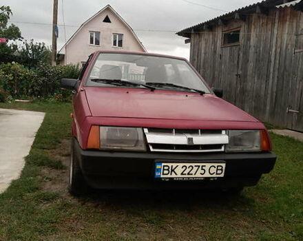 Красный ВАЗ 2109, объемом двигателя 1.3 л и пробегом 250 тыс. км за 1400 $, фото 1 на Automoto.ua