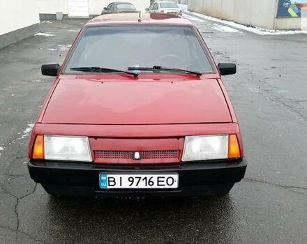 Червоний ВАЗ 2109, об'ємом двигуна 1.3 л та пробігом 169 тис. км за 2100 $, фото 1 на Automoto.ua