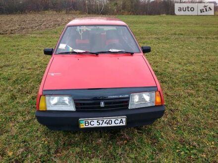 Красный ВАЗ 2109, объемом двигателя 1.3 л и пробегом 20 тыс. км за 2000 $, фото 1 на Automoto.ua