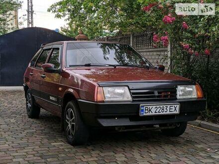 Красный ВАЗ 2109, объемом двигателя 1.5 л и пробегом 166 тыс. км за 2500 $, фото 1 на Automoto.ua