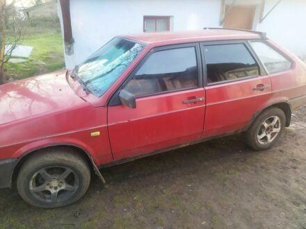 Красный ВАЗ 2109, объемом двигателя 15 л и пробегом 270 тыс. км за 1300 $, фото 1 на Automoto.ua