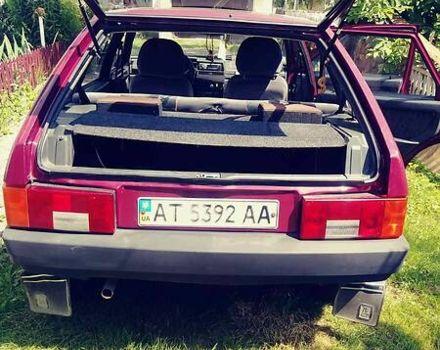 Красный ВАЗ 2109, объемом двигателя 0.2 л и пробегом 90 тыс. км за 2800 $, фото 1 на Automoto.ua