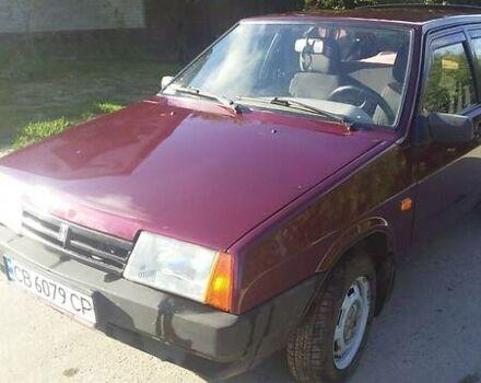 Красный ВАЗ 2109, объемом двигателя 1.6 л и пробегом 81 тыс. км за 3000 $, фото 1 на Automoto.ua