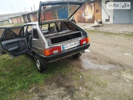 Сірий ВАЗ 2109, об'ємом двигуна 1.5 л та пробігом 70 тис. км за 1100 $, фото 1 на Automoto.ua