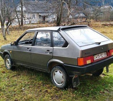 Серый ВАЗ 2109, объемом двигателя 13 л и пробегом 255 тыс. км за 1600 $, фото 1 на Automoto.ua