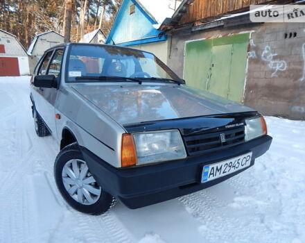 Сірий ВАЗ 2109, об'ємом двигуна 1.6 л та пробігом 137 тис. км за 2900 $, фото 1 на Automoto.ua