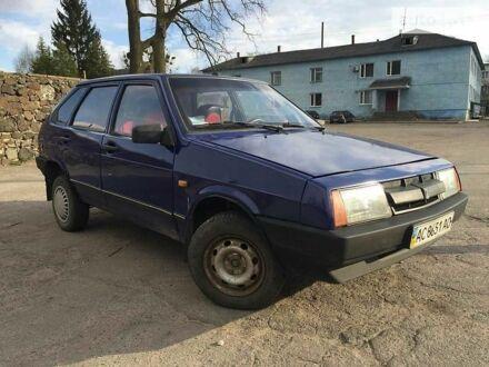 Синий ВАЗ 2109, объемом двигателя 1.5 л и пробегом 55 тыс. км за 1350 $, фото 1 на Automoto.ua