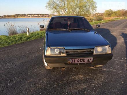 Синий ВАЗ 2109, объемом двигателя 1.5 л и пробегом 10 тыс. км за 1800 $, фото 1 на Automoto.ua