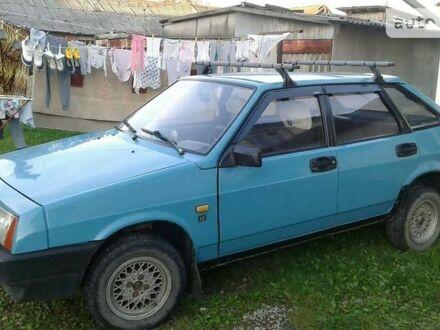 Синій ВАЗ 2109, об'ємом двигуна 1.3 л та пробігом 65 тис. км за 1700 $, фото 1 на Automoto.ua