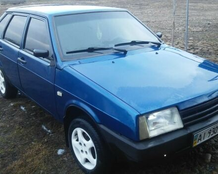 Синий ВАЗ 2109, объемом двигателя 1.5 л и пробегом 1 тыс. км за 1900 $, фото 1 на Automoto.ua