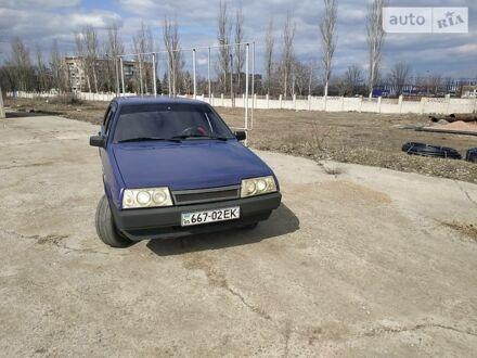 Синий ВАЗ 2109, объемом двигателя 0 л и пробегом 172 тыс. км за 1600 $, фото 1 на Automoto.ua